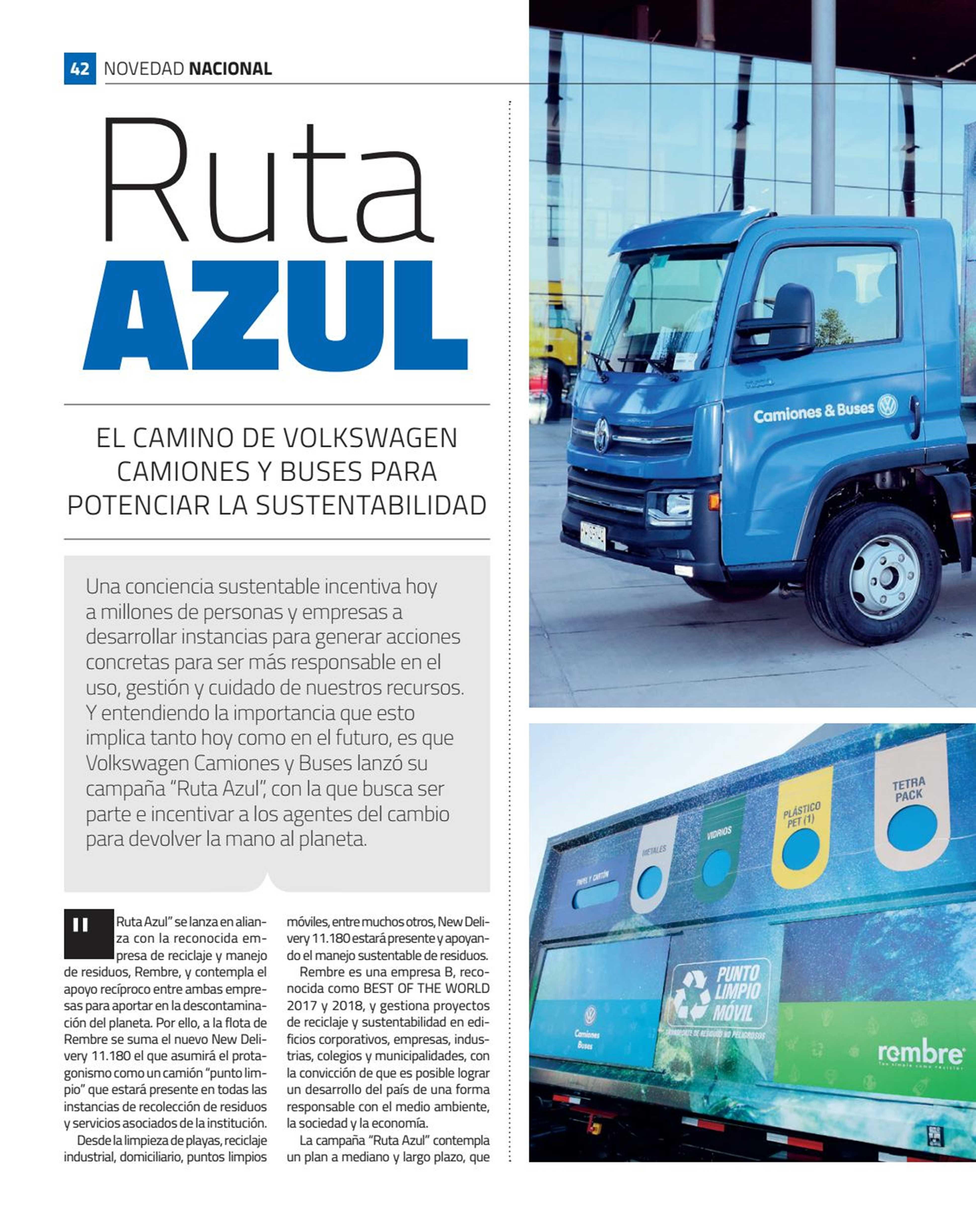 Transporte Total, Ruta Azul.